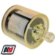 "Facet Fuel Filter For Cube & Posiflow Fuel Pumps 12mm 1/2"" Hose Tail"